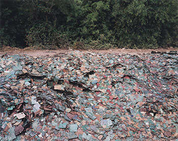 China Recycling #9, Circuit Boards, Guiyu, Guangdong Province, China by Edward Burtynsky