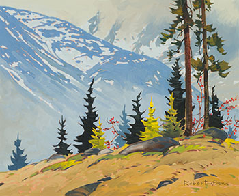 Kokanee Mountain Pattern by Robert Genn