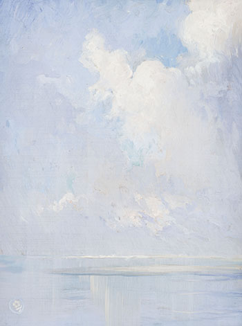 A Study of Sea and Sky par Ernest Percyval Tudor-Hart
