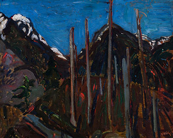 Crown Pass by Frederick Horsman Varley