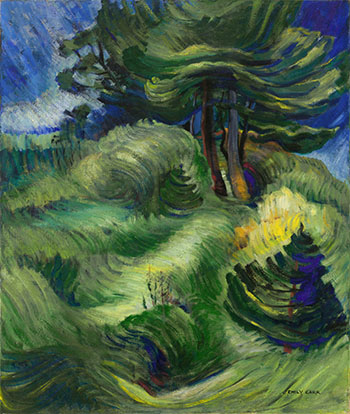 Tossed by the Wind by Emily Carr