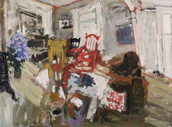 Living Room by Molly Joan Lamb Bobak