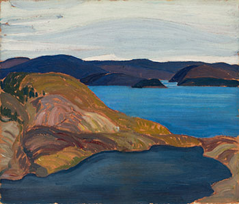 Port Coldwell, Lake Superior by Franklin Carmichael