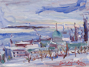 View of Montreal by Samuel Borenstein