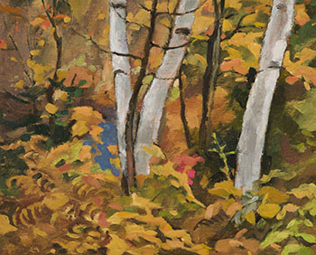 Autumn Tangle, Morin Heights by Edwin Headley Holgate