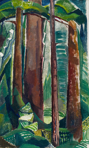 Forest Interior by Emily Carr