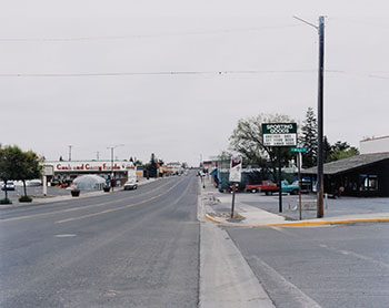 East Main and North Mills Street, Grangeville, Idaho by Sarah Hodgkins