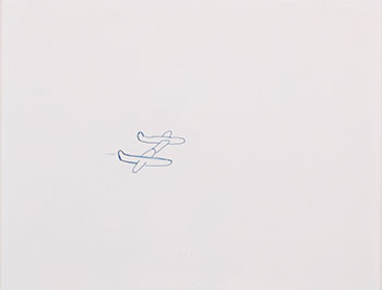 Untitled (2 planes) by Euan Macdonald