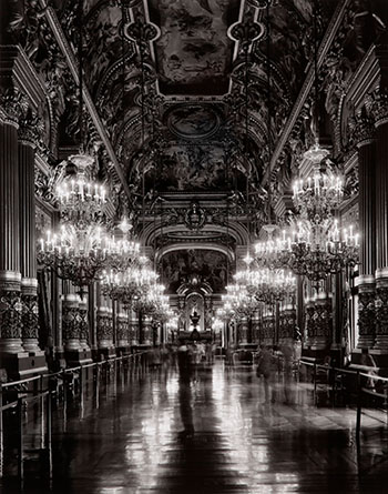 Le Grande Foyer, Opera de Paris, Palais Garnier by Matthew Pillsbury