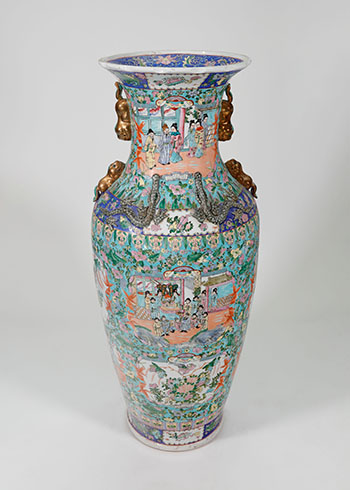 Chinese T'ung Chih Vase by  Unknown Artist