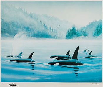 Orca by Robert Wyland
