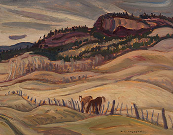 Chilcotin Hills, BC by Alexander Young (A.Y.) Jackson