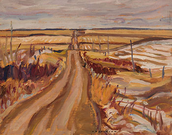 Country Road, Manitoba by Alexander Young (A.Y.) Jackson