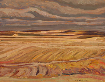 Spring Coulee, Alberta by Alexander Young (A.Y.) Jackson