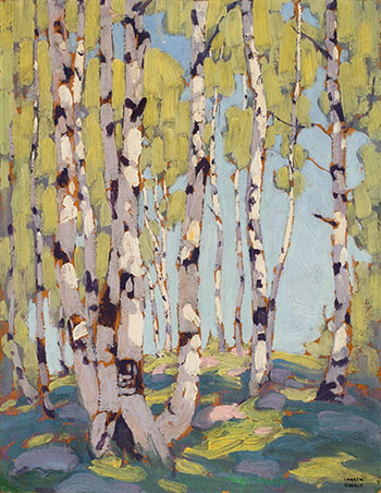Birches by Lawren Stewart Harris