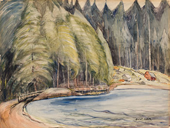 South Bay, Skidegate by Emily Carr