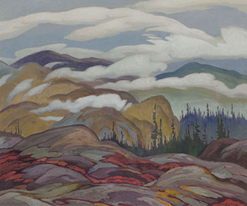 Rising Mist by Alfred Joseph (A.J.) Casson