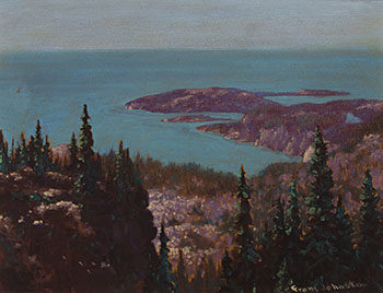 LaBine Point, Great Bear Lake by Frank Hans (Franz) Johnston