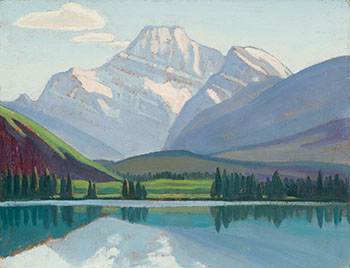 Mount Edith Cavell by Lawren Stewart Harris