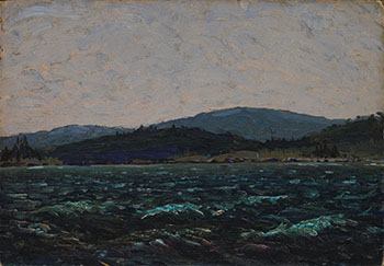Sketch for Lake in Algonquin Park by Thomas John (Tom) Thomson