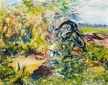 The Friendly Well by Jack Butler Yeats