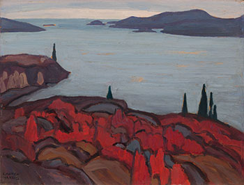 Coldwell - North Shore, Lake Superior by Lawren Stewart Harris