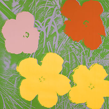 Flowers (F. & S. II.65) by Andy Warhol