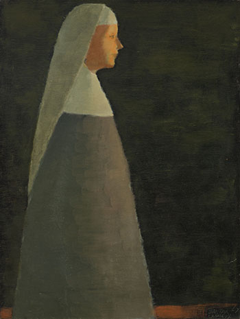 Religieuse by Jean Paul Lemieux