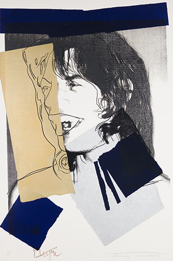 Mick Jagger (F.&S. II.142) by Andy Warhol