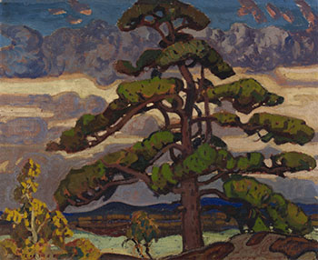 The Pine Tree, Georgian Bay by Arthur Lismer