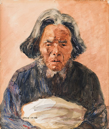 Old Man by Emily Carr
