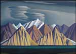 LAWREN STEWART HARRIS Bylot Island I oil on canvas