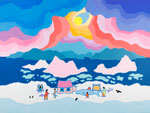 Record Ted Harrison sale - Heffel Gallery - buy and sell art