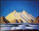 LAWREN STEWART HARRIS Baffin Island oil on canvas