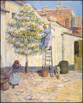 Picking Fruit by Helen Galloway McNicoll