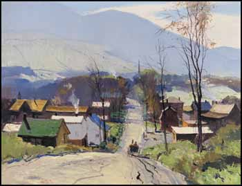 The Road into the Village by George Franklin Arbuckle