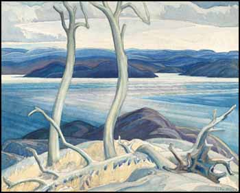 Port Coldwell Bay, North Shore, Lake Superior by Franklin Carmichael