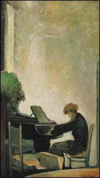 Le Pianiste by Marc-Aurèle Fortin
