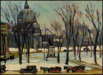 Dominion Square, Montreal by Kathleen Moir Morris