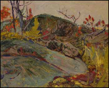Rock Study, Haliburton County by James Edward Hervey (J.E.H.) MacDonald
