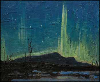Northern Lights by Thomas John (Tom) Thomson