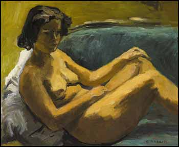 Reclining Nude (The Artist's Wife) by William Goodridge Roberts
