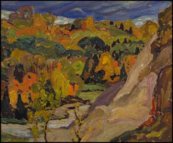 Lansing, Ontario by Franklin Carmichael