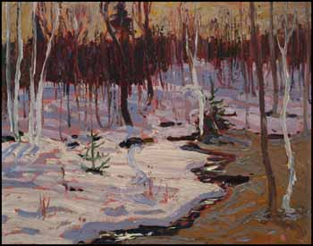 Spring Woods by Thomas John (Tom) Thomson