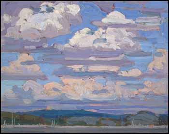 Summer Clouds by Thomas John (Tom) Thomson
