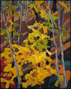 Autumn Woods by Franklin Carmichael