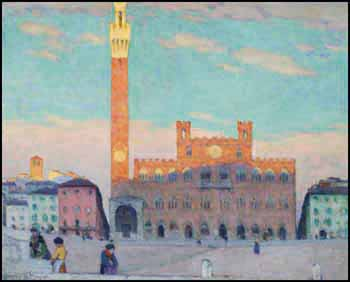 Campo, Siena by Clarence Alphonse Gagnon