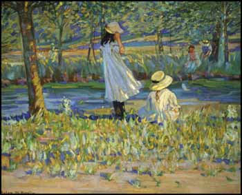 Watching the Boat by Helen Galloway McNicoll