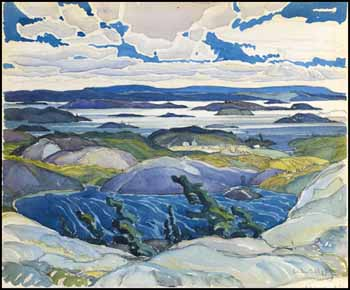 The Bay of Islands by Franklin Carmichael