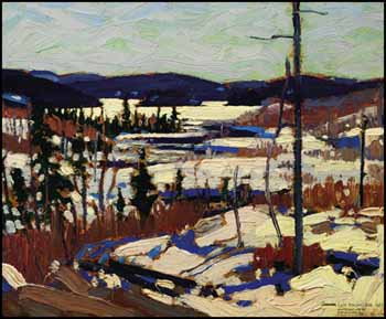 Early Spring, Canoe Lake by Thomas John (Tom) Thomson